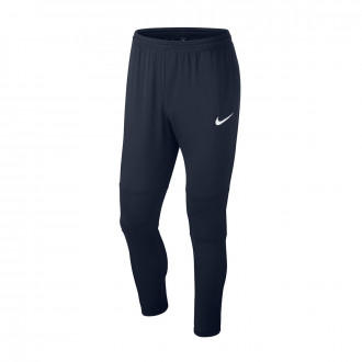 Long pants   Nike Kids Dry Park 18 Obsidian-White
