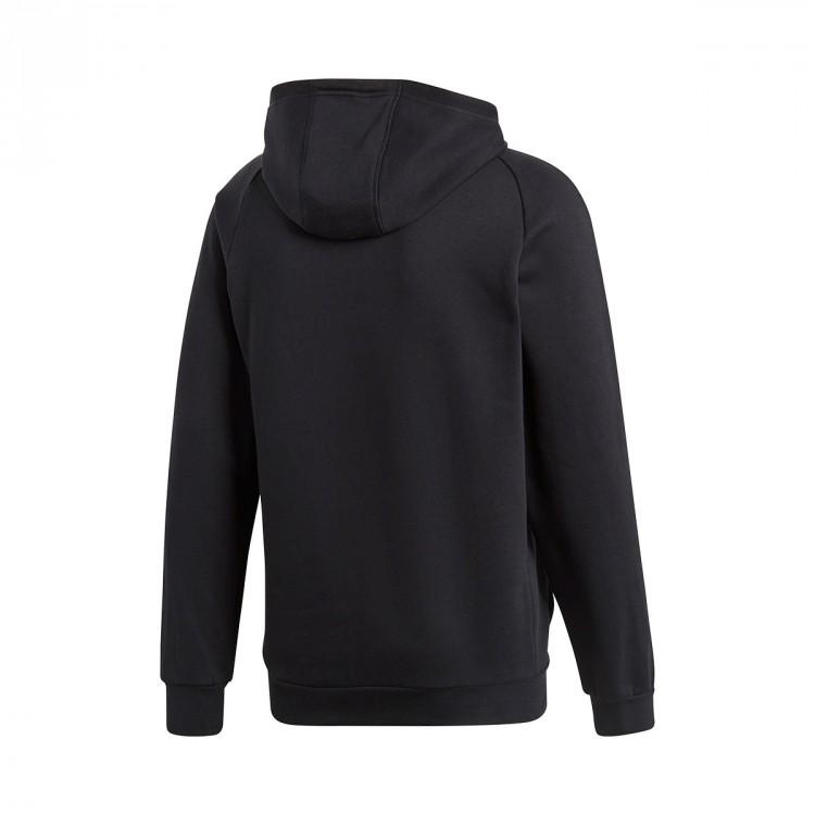 cb1b44992 Sweatshirt adidas Core 18 Hoody Black - Football store Fútbol Emotion