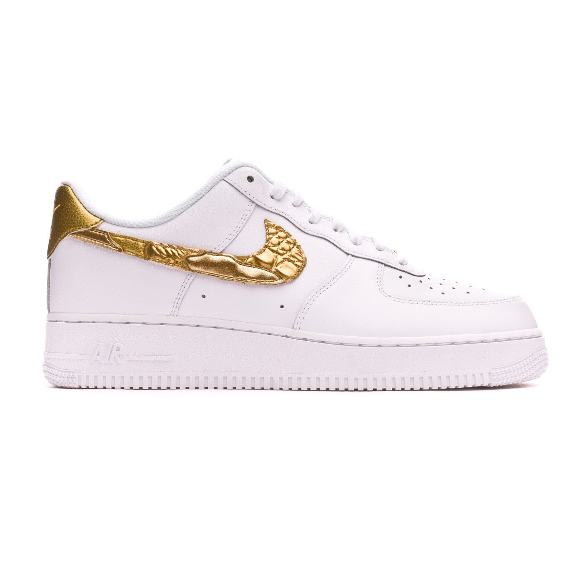 2b59554525b Football Boot Nike Air Force 1 2007 CR7 - Limited Edition White-Metallic  gold - Tienda de fútbol Fútbol Emotion
