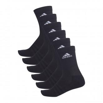 Calcetines  adidas Entrenamiento 3S (6 pares) Negro