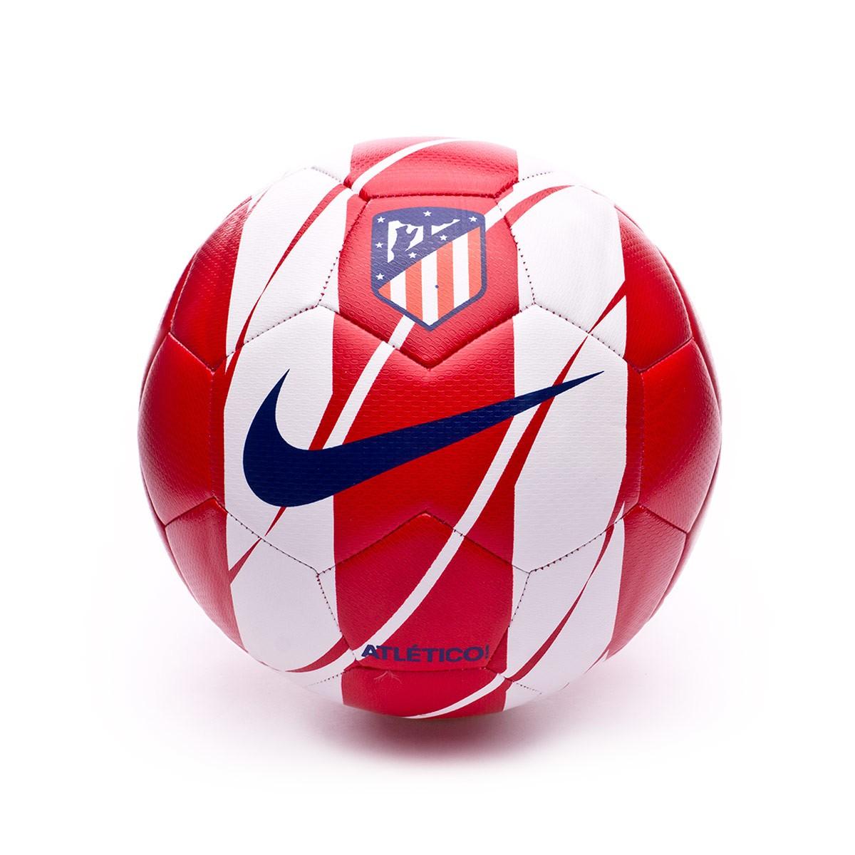 f4b3495b5f13f Balón Nike Atletico de Madrid Prestige 2017-2018 Sport red-Deep royal blue  - Tienda de fútbol Fútbol Emotion