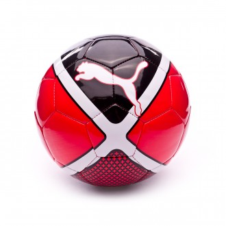 Balón  Puma evo SALA Red Blast-Puma Black-Puma White