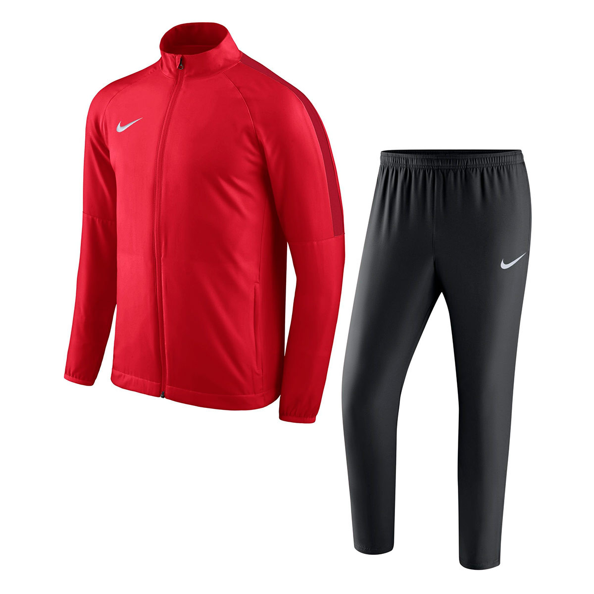 10bf1a638bc0 Tuta Nike Academy 18 Woven University red-Black-Black-Gym red-White -  Negozio di calcio Fútbol Emotion