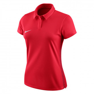 Polo  Nike Dry Academy 18 Mujer University red-Gym red-White