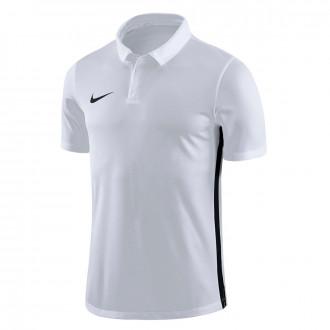 Polo  Nike Dry Academy 18 White-Black