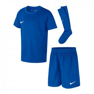 Conjunto  Nike Dry Park Crianças Royal blue-White