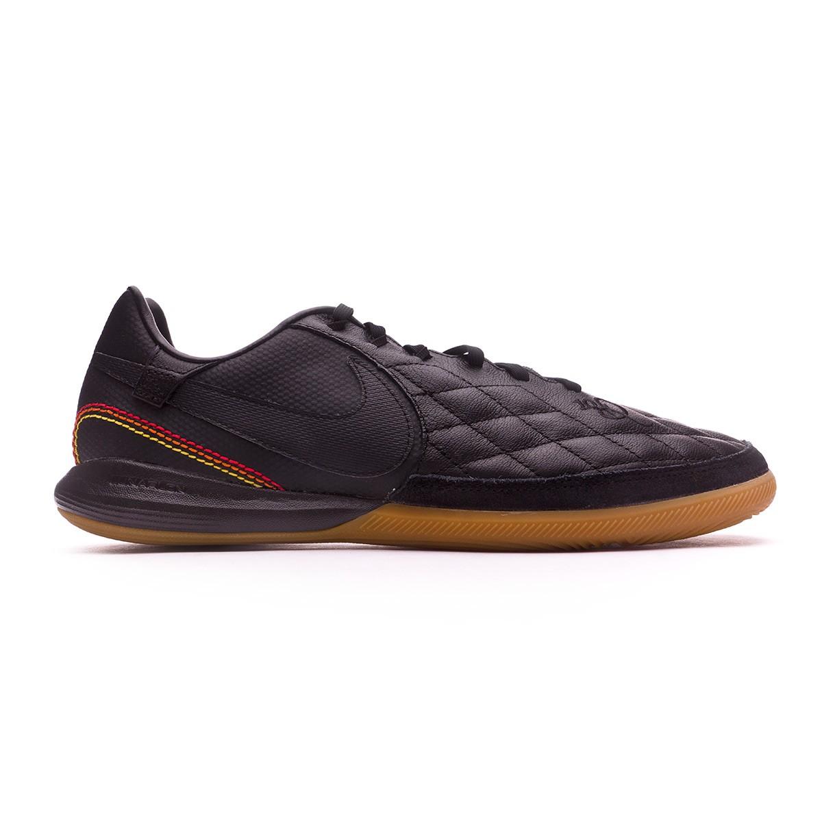 afd1154750 Sapatilha de Futsal Nike TiempoX Finale 10R Paris IC Black-Metallic gold -  Loja de futebol Fútbol Emotion