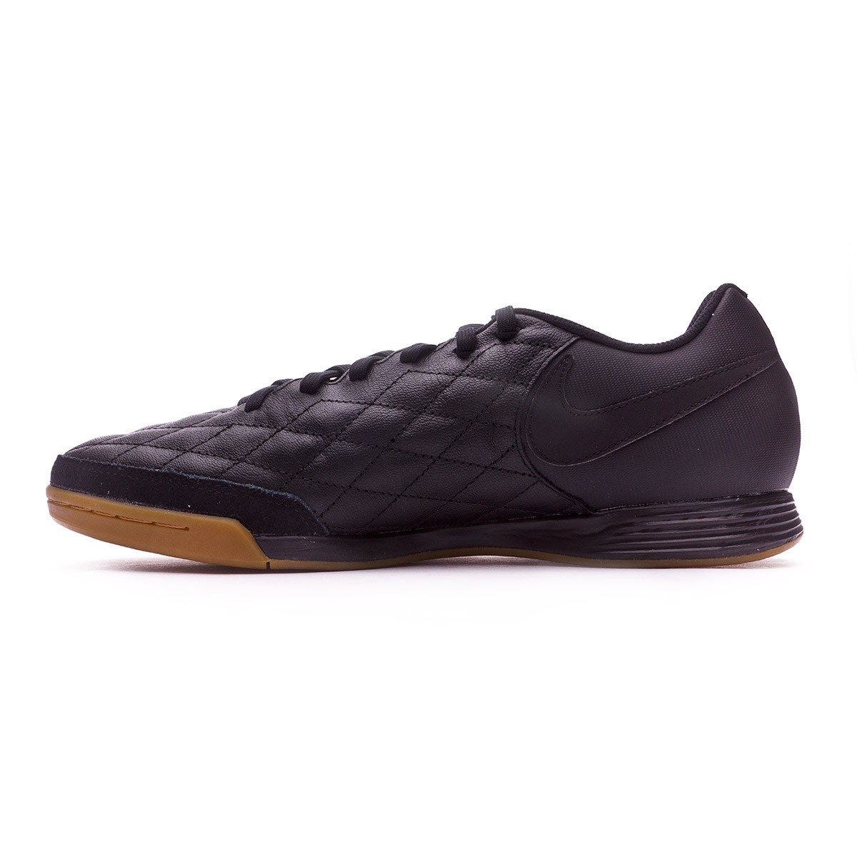 b9ae24af53e9 Futsal Boot Nike TiempoX Ligera IV 10R Paris IC Black-Metallic gold -  Football store Fútbol Emotion
