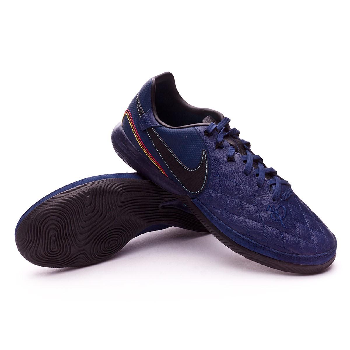Sapatilha de Futsal Nike TiempoX Finale 10R Porto Alegre IC Midnight ... 116110b42aae5