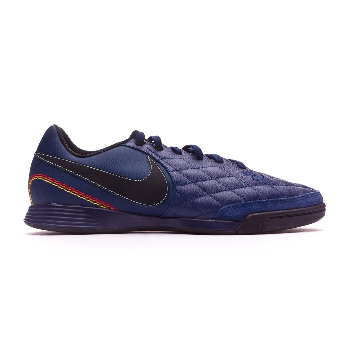 8445e2260 Futsal Boot Nike TiempoX Ligera IV 10R Porto Alegre IC Midnight navy-Black-Lagoon  pulse - Tienda de fútbol Fútbol Emotion