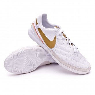 Zapatilla  Nike Lunar LegendX VII Pro 10R Barcelona IC White-Metallic gold-White
