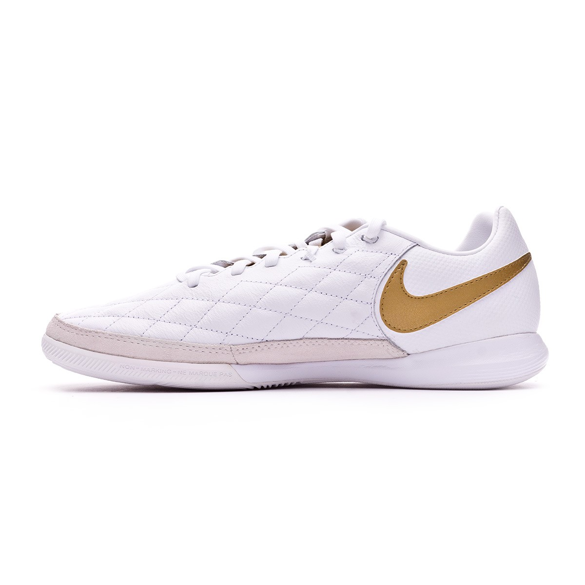 a1b4078a5386 Futsal Boot Nike Lunar LegendX VII Pro 10R Barcelona IC White-Metallic gold- White - Tienda de fútbol Fútbol Emotion