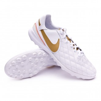 Sapatilhas  Nike Lunar LegendX VII Pro 10R Barcelona Turf White-Metallic gold-White