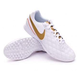 Sapatilhas  Nike LegendX VII Academy 10R Turf White-Metallic gold-White