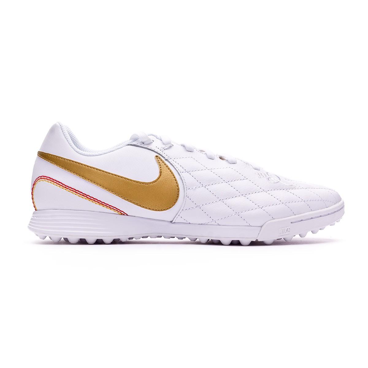 63382090f Football Boot Nike LegendX VII Academy 10R Turf White-Metallic gold-White -  Tienda de fútbol Fútbol Emotion