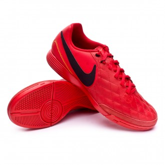 Sapatilha de Futsal  Nike LegendX VII Academy 10R IC University red-Black-Metallic gold