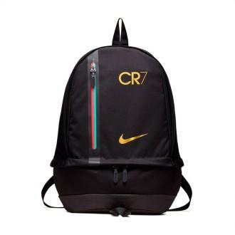 Mochila  Nike CR7 Cheyenne Black-Metallic gold
