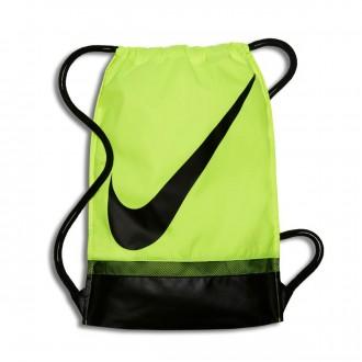 Mochila  Nike Gymsack Football Volt-Black