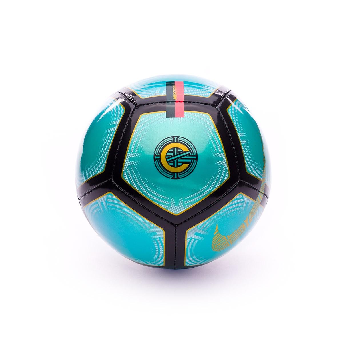 f5580e80f Ball Nike Mini CR7 Skills Clear emerald-Black-Gold - Football store ...