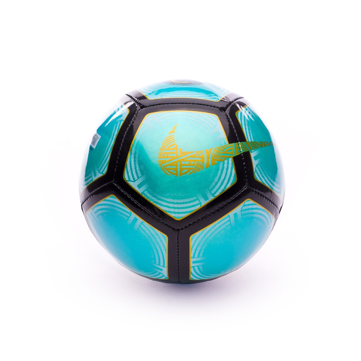 Bola de Futebol Nike Mini CR7 Skills Clear emerald-Black-Gold - Loja ... 0e49caebf76bb