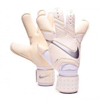 Guanti  Nike Grip 3 White-Chrome