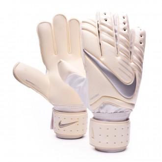 Glove  Nike Spyne Pro White-Chrome