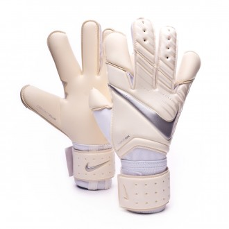 Guante  Nike Vapor Grip 3 White-Chrome