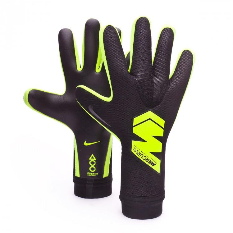 Guante de portero Nike Mercurial Touch Elite Black-Volt ...