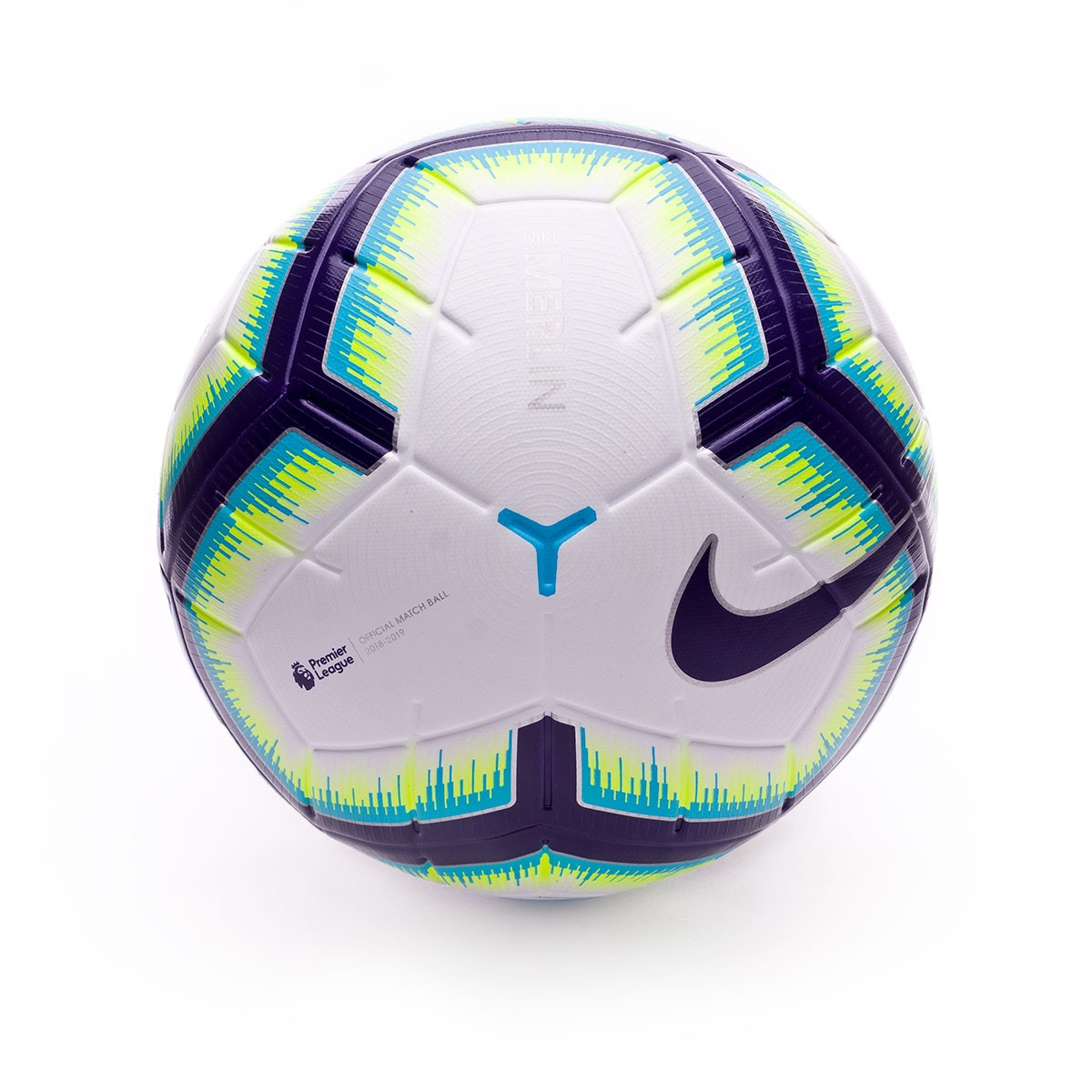 Ball Nike Premier League Merlin 2018-2019 White-Blue-Purple ... 8d02769422f2f