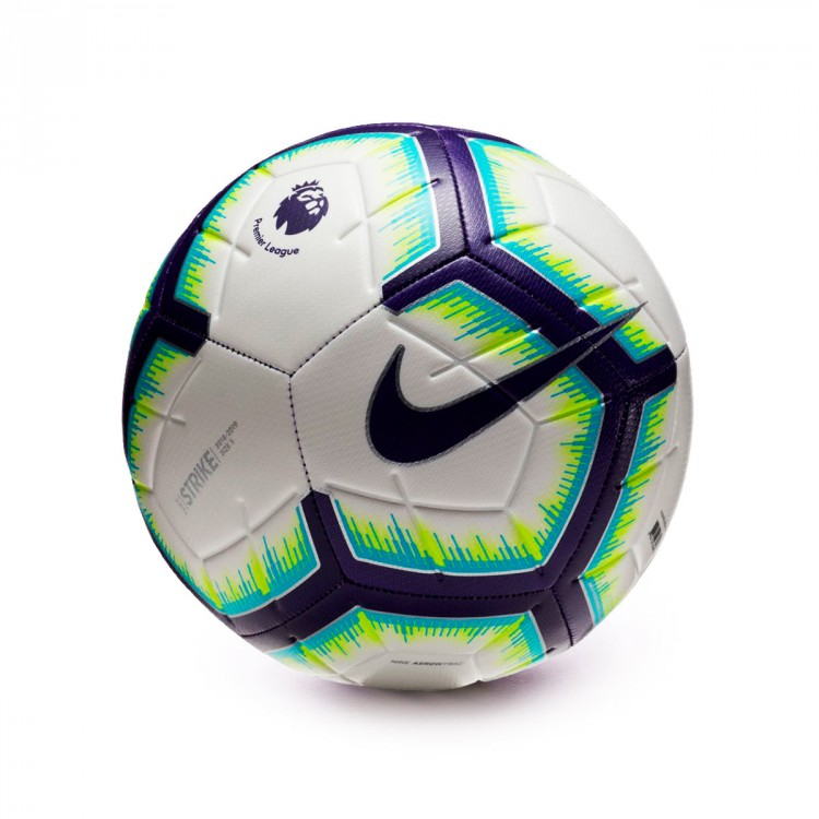 Ball Nike Premier League Strike 2018-2019 White-Blue-Purple ... 7ad6caa79d813