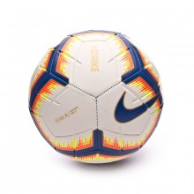 Balón Serie A Strike 2018-2019 White-Bright mango-Royal blue