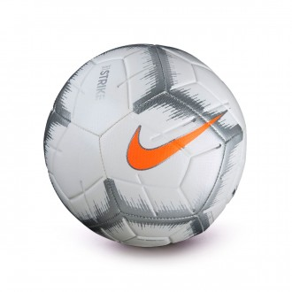 Balón  Nike Strike - Event Pack White-Chrome-Total orange