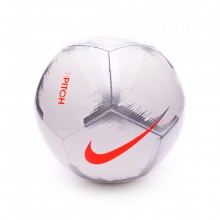 Balón Pitch - Event Pack White-Chrome-Total orange