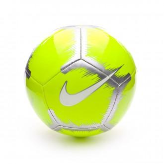 Ballon  Nike Pitch - Event Pack Volt-Chrome-White