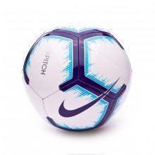 Balón Premier League Pitch 2018-2019 White-Blue-Purple