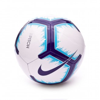 Balón  Nike Premier League Pitch 2018-2019 White-Blue-Purple