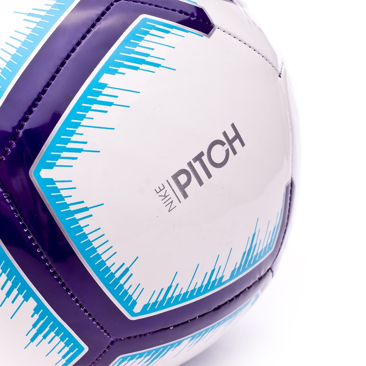 61c5784af Ball Nike Premier League Pitch 2018-2019 White-Blue-Purple - Football store  Fútbol Emotion