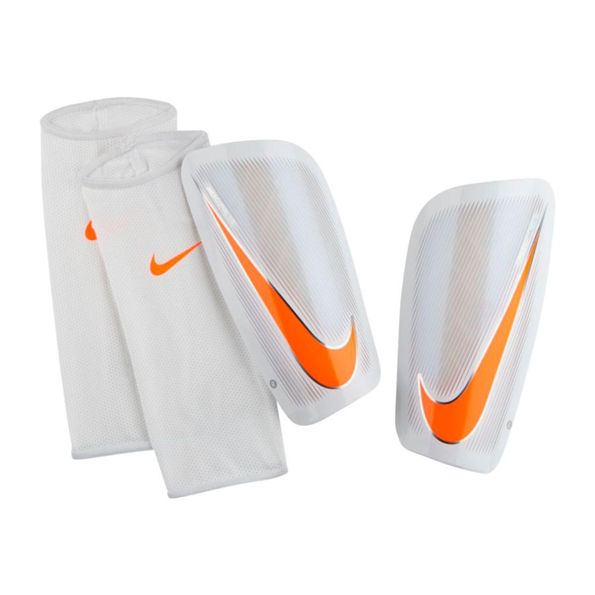 Shinpads Nike Mercurial Lite White-Total orange - Soloporteros es ... 49b4de7bcba