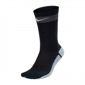 Meias  Nike Strike Light Crew Black-Anthracite-White