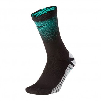 Socks  Nike Grip CR7 Crew Black-Kinetic green-Siren red-Black