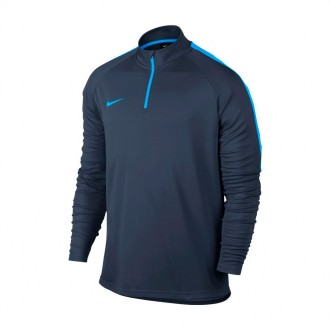 Sweatshirt  Nike Dry Academy Football Drill Obsidian-Blue hero