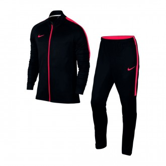 Tracksuit  Nike Dry Academy Football Black-Siren red