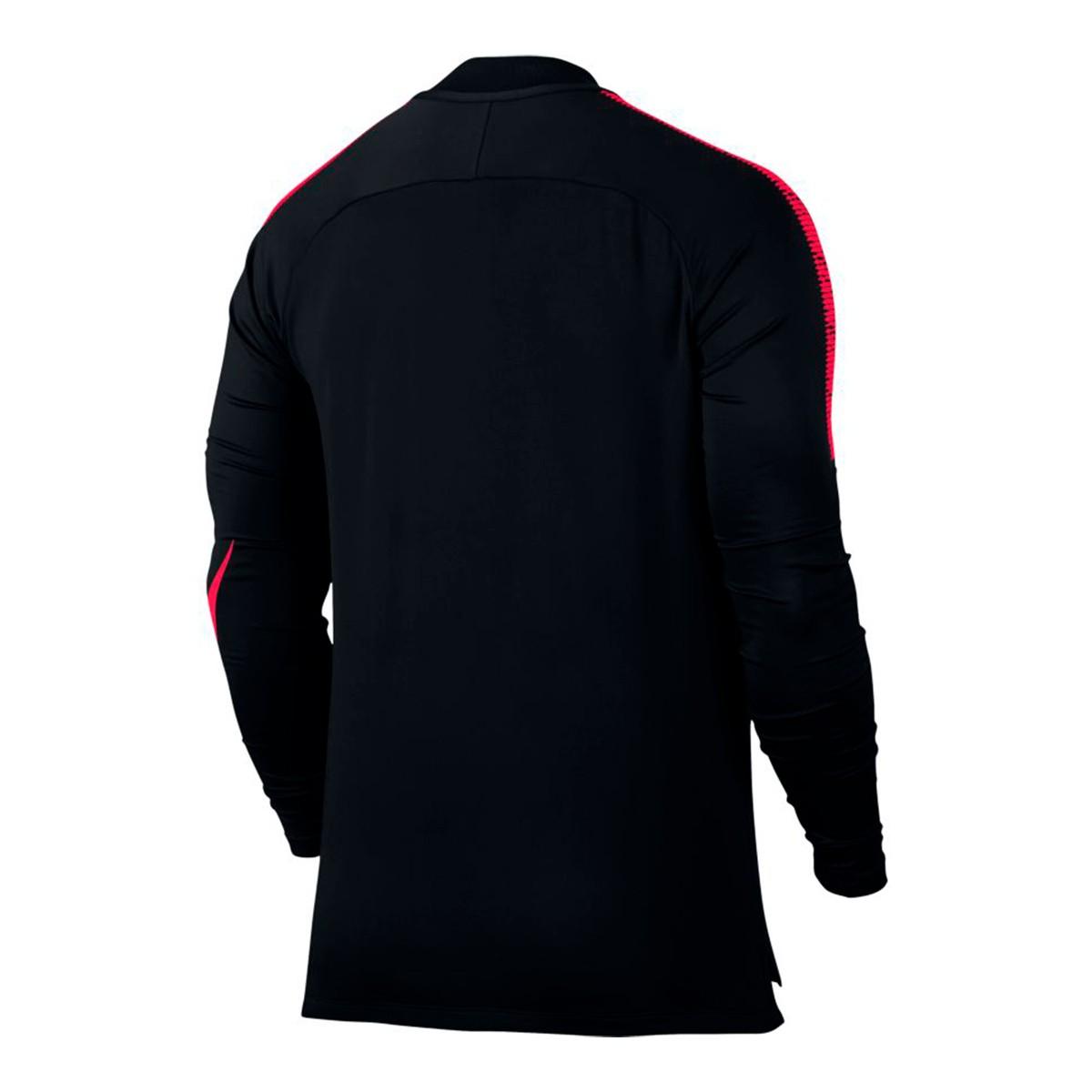 Siren Squad Black Nike Drill Dry Football Sudadera Red Top Iwx70nxY