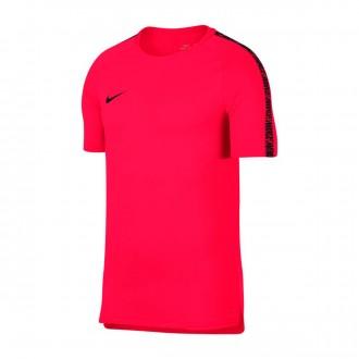 Camiseta  Nike Breathe Squad Football Siren red-Black