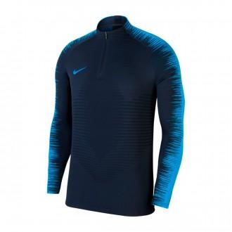Sweatshirt  Nike Vaporknit Strike Drill Obsidian-Blue hero