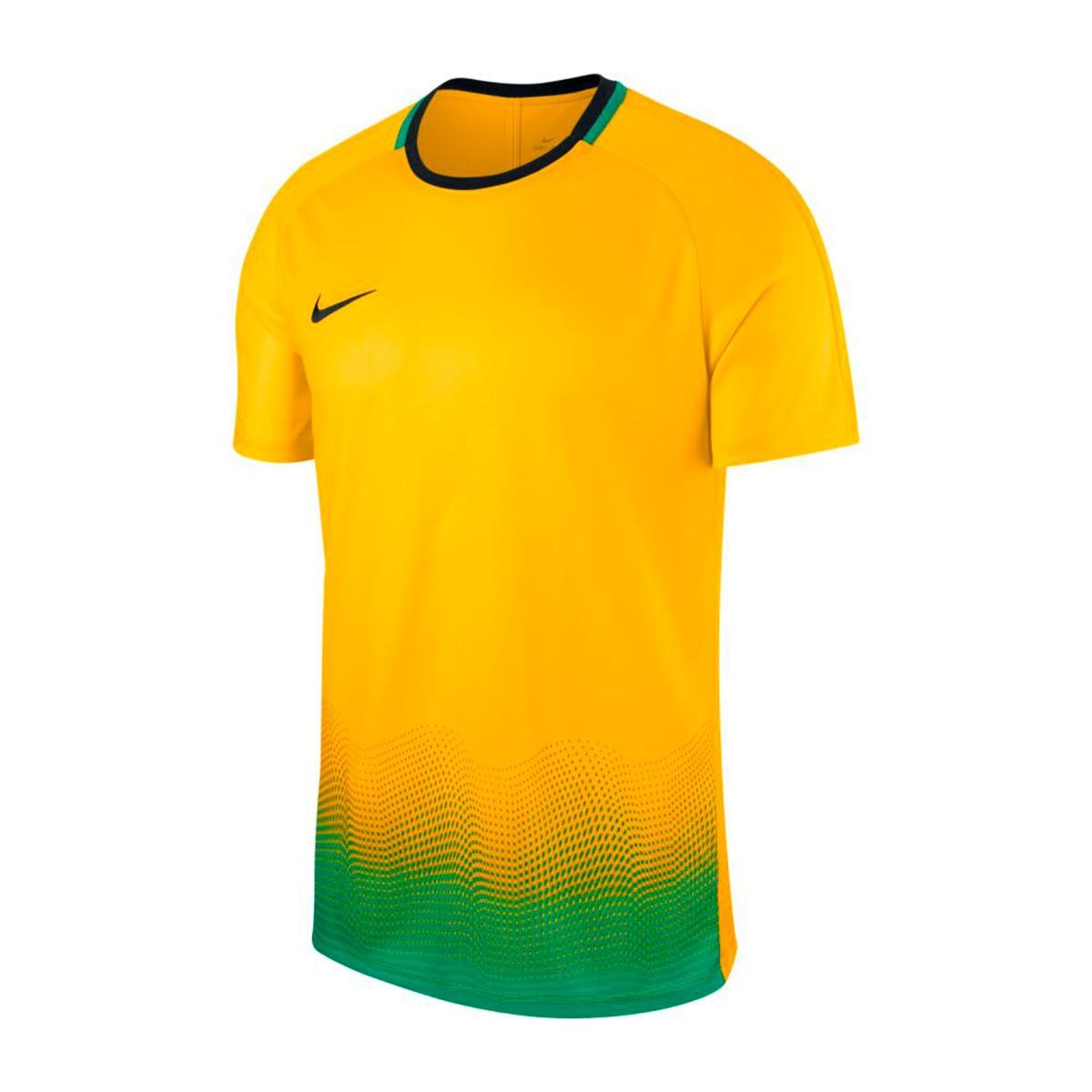3276b82d Playera Nike Dry Academy GX Yellow-Lucky green-Black - Tienda de fútbol  Fútbol Emotion