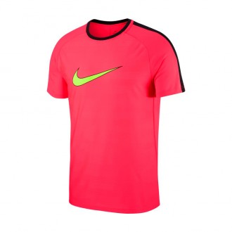 Camiseta  Nike Dry Academy GX2 Laser crimson-Black-Volt