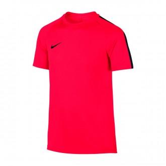 Camisola  Nike Dry Academy Football Crianças Siren red-Black