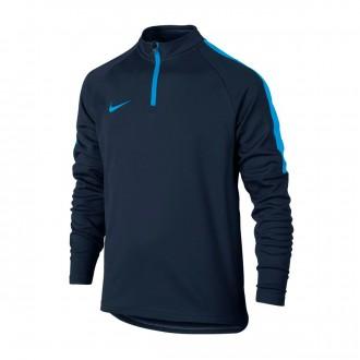 Sweatshirt  Nike Dry Academy Football Drill Crianças Obsidian-Blue hero