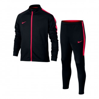 Tracksuit  Nike Kids Dry Academy Football  Black-Siren red